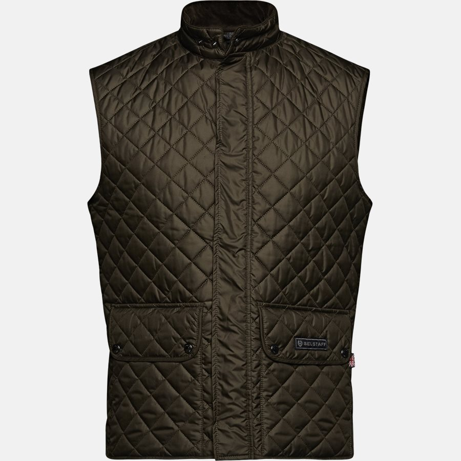 C50N0192 WAISTCOAT - C50N0192 WAISTCOAT vest - Veste - Slim - DARK OLIVE - 1